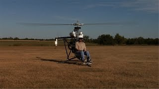 Repeat youtube video Doug Bryant & His Mosquito Helicopter