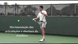 Segredo para Gerar força no Forehand - Get power on your Forehand