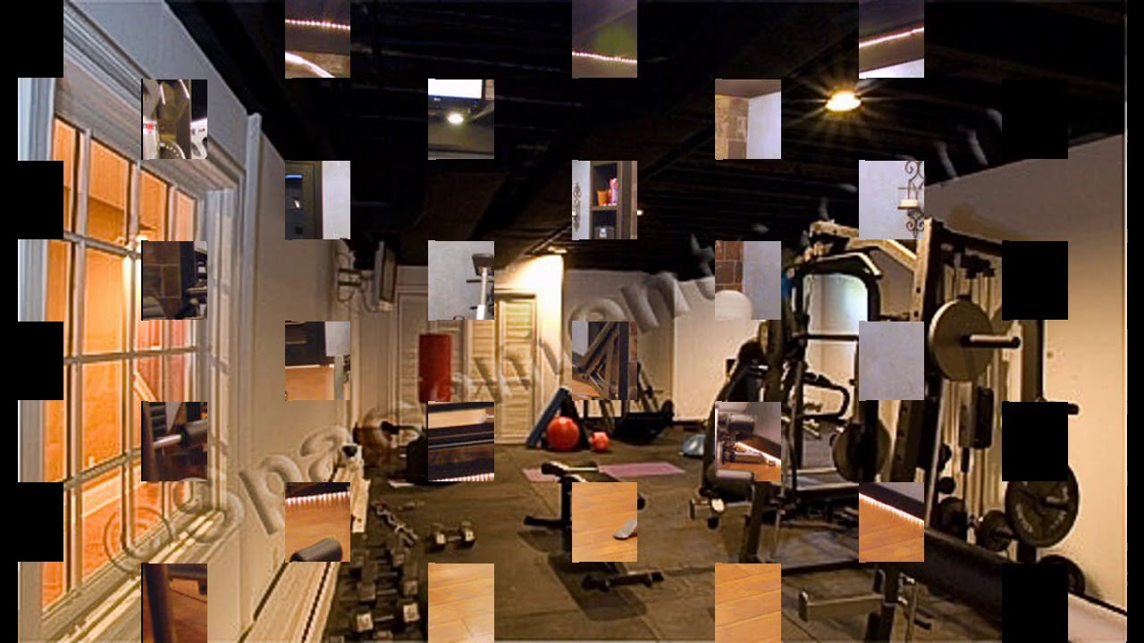 Keller hause fitness studio design ideen - YouTube
