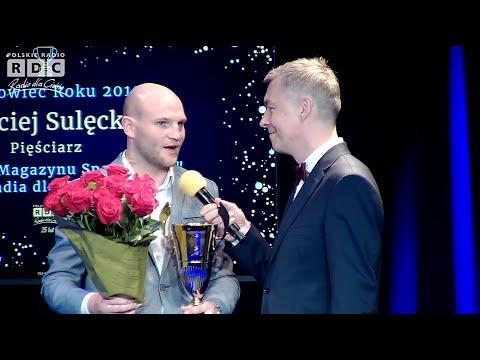 Gala SPORTOWIEC ROKU Magazynu Sportowego Radia Dla Ciebie. Maciej Sulęcki Z Tytułem Sportowiec Roku!