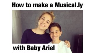 How To Make A Musical.ly With Baby Ariel