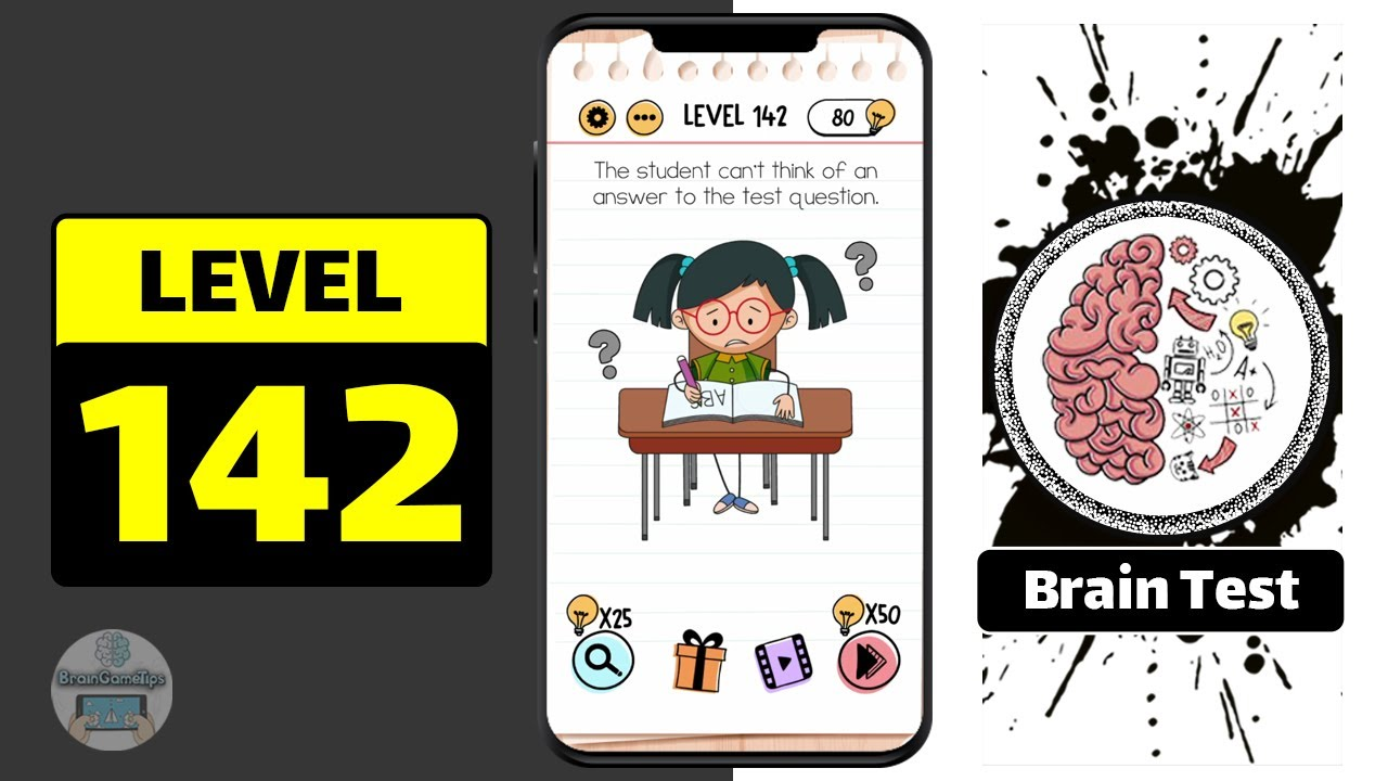 Brain Test Level 142 Walkthrough - YouTube