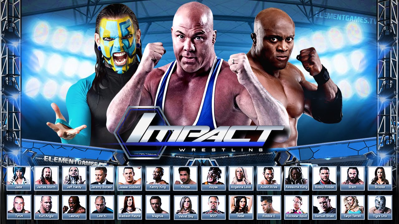 tna impact wrestling 2k16 demo roster reveal notion youtube