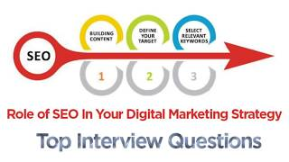 SEO interview questions and answers | SEO in Digital Marketing