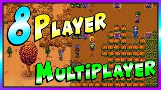 How To Get 8 Players In Vanilla Multiplayer and Helpful Multiplayer Mods - Stardew Valley