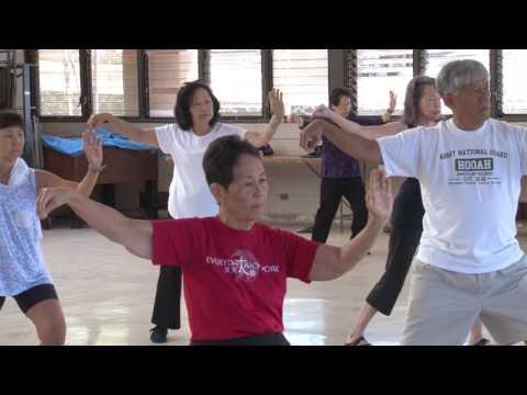 2017 World Tai Chi Practice #4 everydaytaichi lucy chun Honolulu, Hawaii