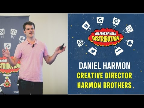 """[WMD 2016] Harmon Brothers, Daniel Harmon """"Create videos that don't just go viral, they drive sales"""""""