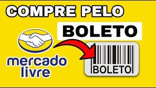 COMO COMPRA NO MERCADO LIVRE PELO BOLETO screenshot 4