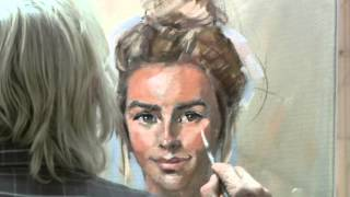 Live Portrait Demonstration by Rob Wareing London UK 2015