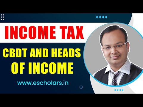 #2 | income tax act 1961 | Part 2 | cbdt and heads of income | ca | cs | cma | bcom | bba