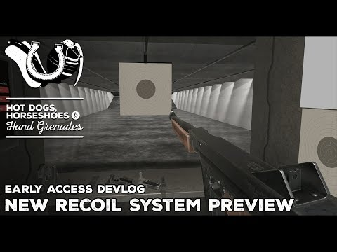 H3VR Early Access Devlog: Recoil System Rebuild and More Handgun Audio