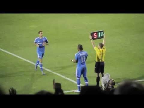 Premier match #MLS de Didier Drogba : Réaction de la foule Impact de Montréal - Kan Football Club