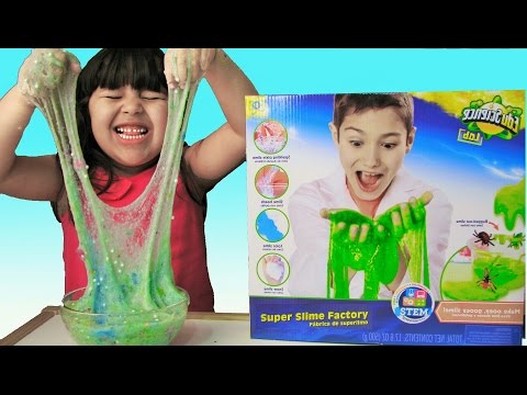 How to Make Slime with Super Slime Factory Edu Science Lab