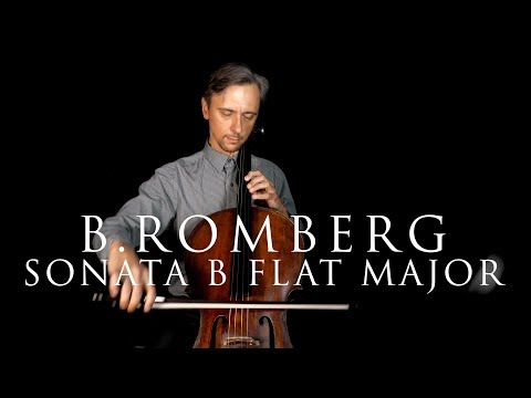 Romberg sonata B flat Major, Op. 43, No. 1 in Fast and Slow tempo