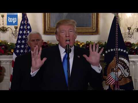 President Trump's speech on Jerusalem as Israel's capital, in 3 minutes