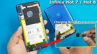 Infinix Note 4 Display Replacement - How to Open and Test Display Disassembly Infinix Note infinix h.