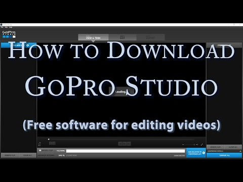 How to Download GoPro Studio - Free Software for Editing Video