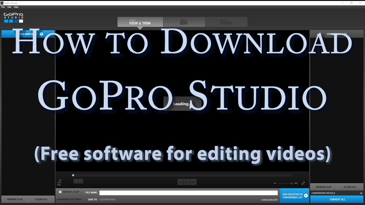 best free gopro editing software 2018