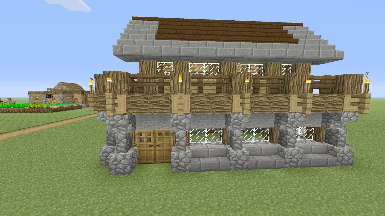 Minecraft een beginners huis bouwen nederlands youtube for Huis maken minecraft