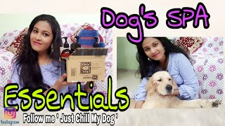 Dog's Spa Essentials At Home // Amazon Dogs Grooming Shopping Haul // Golden Retriever