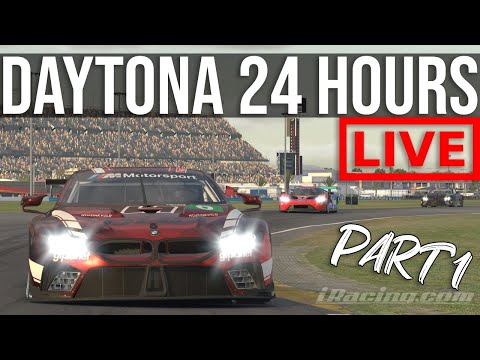The IRacing Daytona 24 Hours | Part 1