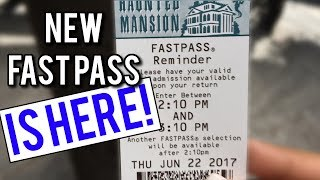 New Fast Pass system AND waterfalls LIVE TODAY! - Disney News 06/23/17