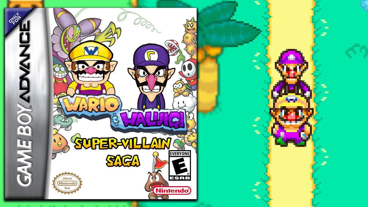 Wario Waluigi Super Villain Saga Pixel Pitch Mario Luigi Series Re Imagined