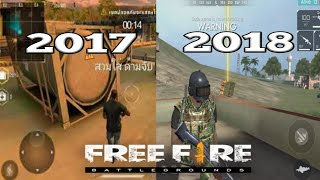 Evolution of Garena Free Fire