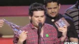 This is some award show that NOFX won an award at. I found this vid...
