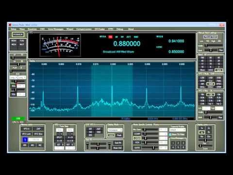 Genesis SDR software with a SINCGARS skin - W1AEX