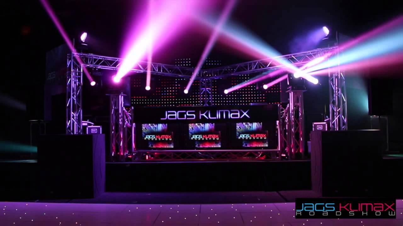 Jags Klimax Roadshow Platinum Package with Advanced Lighting u0026 LED Dancefloor  sc 1 st  YouTube & Jags Klimax Roadshow Platinum Package with Advanced Lighting u0026 LED ... azcodes.com