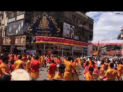 Shri Dagadushet Ganpati Agman Dhol-Tashachya Gajraj