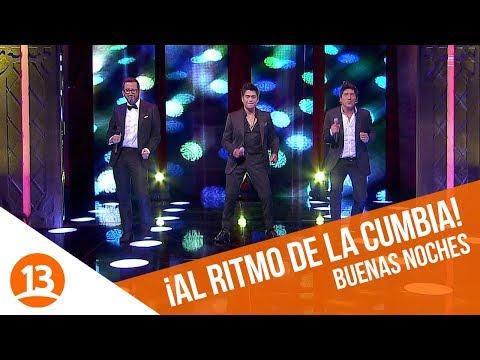 Américo, Zamorano y Eduardo al ritmo de la cumbia  Buenas Noches