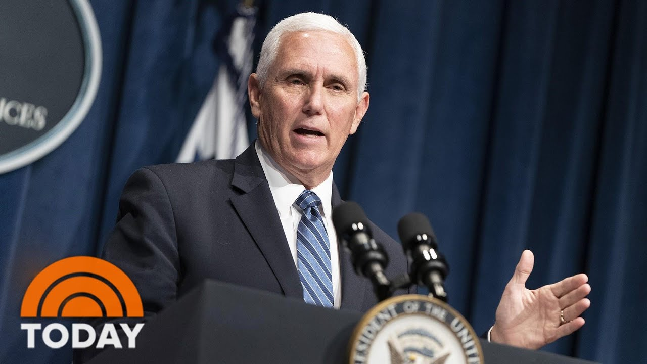 Mike Pence challenged on Trump rally where supporters did not ...