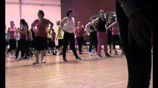 sandrine zumba magic system tu es fou et fire ball pitbull