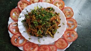 Tasty and easy ladyfinger /Swadishta bhindi ki sabzi /Indian Thali