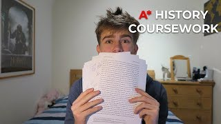 a2 history coursework ocr