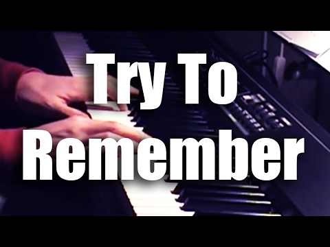 Try to remember, the kind of September (piano/vocal)