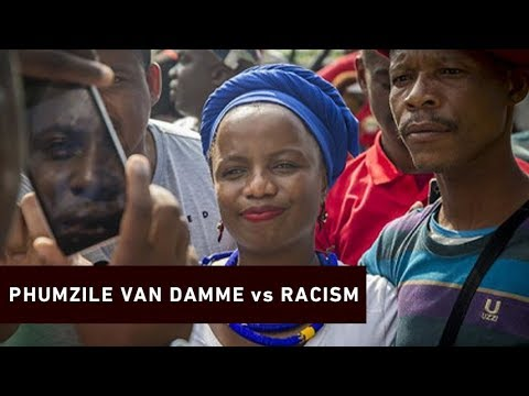 DA's Phumzile Van Damme punches man over alleged racism at V&A