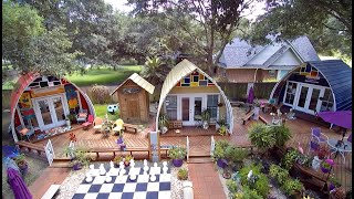 Arched Cabins = Off Grid Simple Living with Financial Freedom