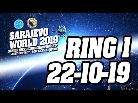 WAKO World Championships 2019 Ring 1 22/10/19