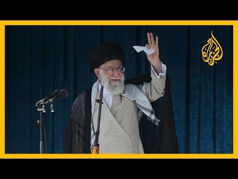???? #خامنئي يهدد وهوك يقول إن التهديدات ستزيد #إيران عزلة  - نشر قبل 2 ساعة