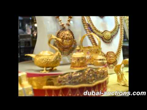 auctions for Jewelry and Gold in Dubai