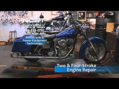 motorcycle mechanic training school pennsylvania - ncst - youtube
