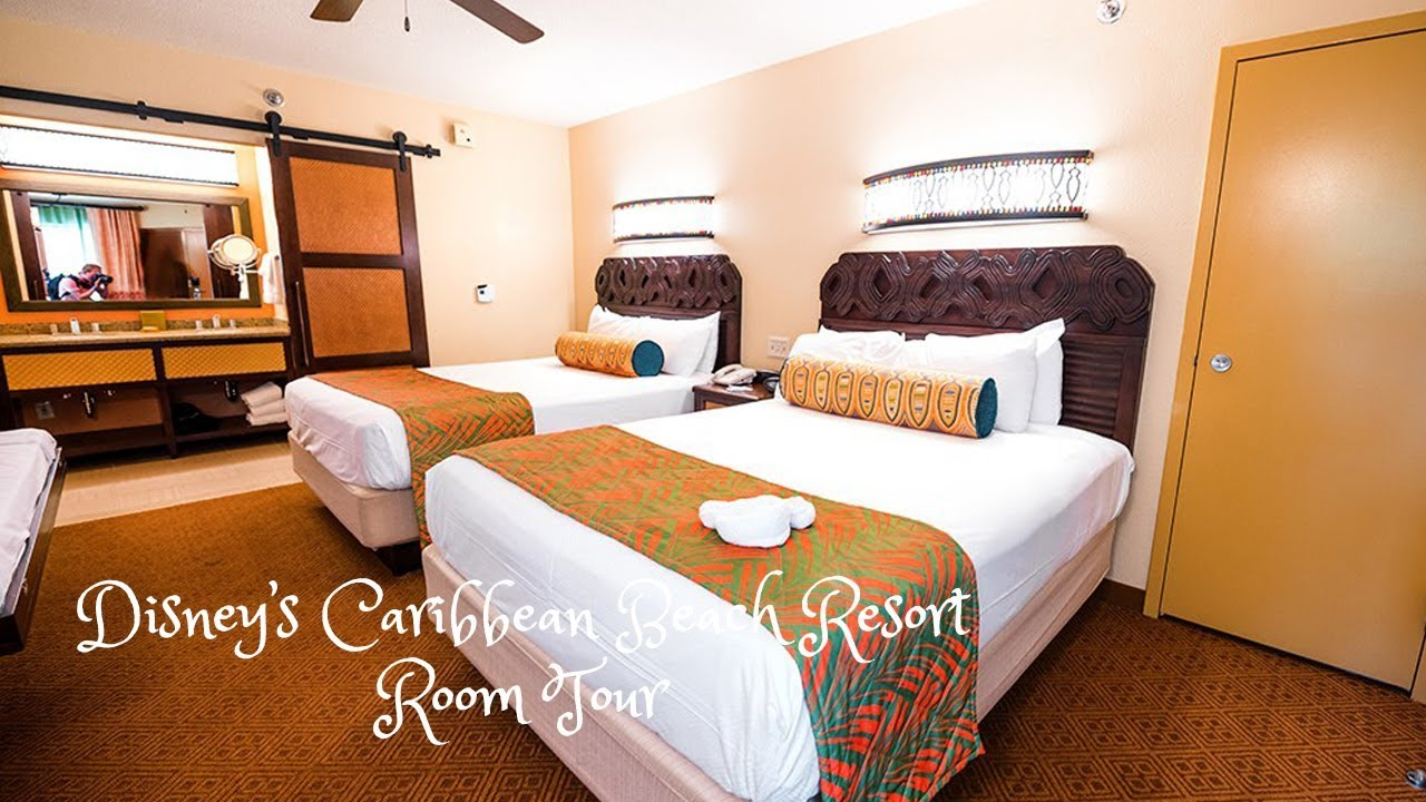 Disney S Caribbean Beach Resort Room Tour