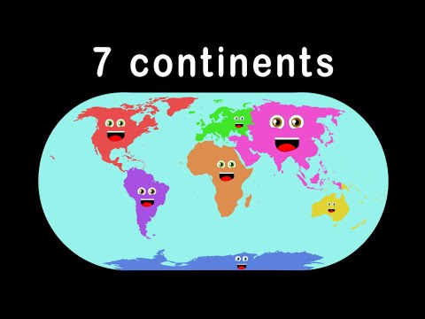 Seven Continents Song/Seven Continents Song for Kids - YouTube