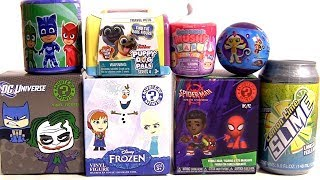 Puppy Dog Pals Slime surprise pj masks frozen spider-man dc universe opening toys