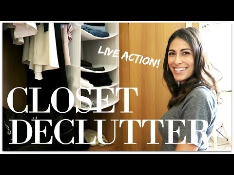MINIMALISM: LIVE ACTION DECLUTTERING WITH SOFIE!