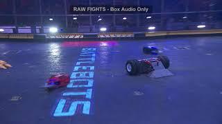 BattleBots Basement - Hypothermia vs. The Four Horsemen - Unseen USA v WORLD match