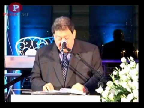Israeli Minister of Industry, Trade and Labor Binyamin Ben Eliezer speaks to EUREKA Reps